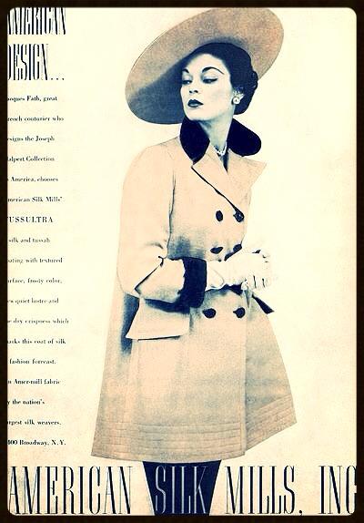 Vintage Fashion Ad 30
